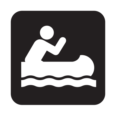 canoe icon 1 - Eastern Lake Couchiching Water Trail