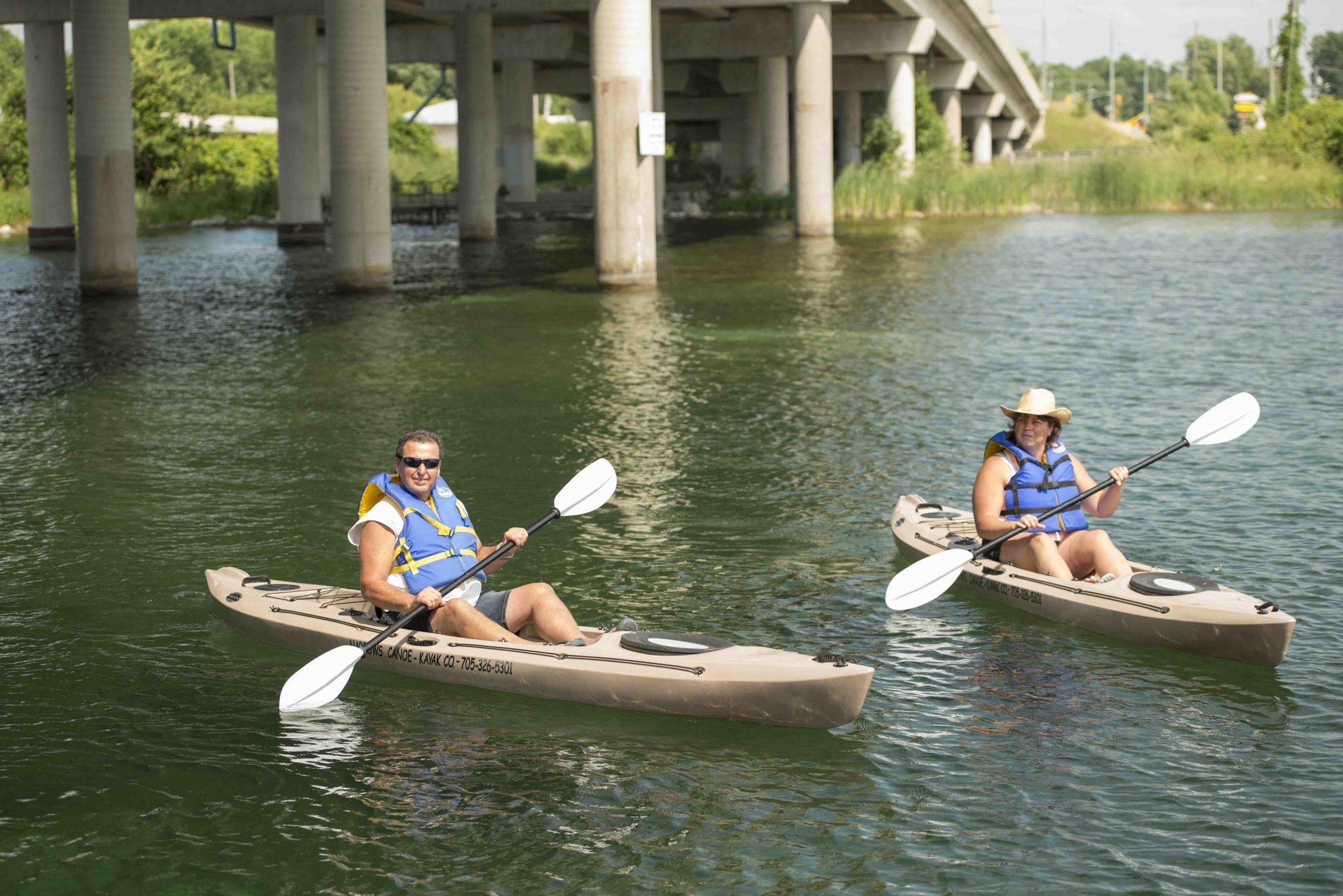 Paddling fish weirs outdoor recreation summer - 10 Amazing Paddle Routes in Orillia and Lake Country