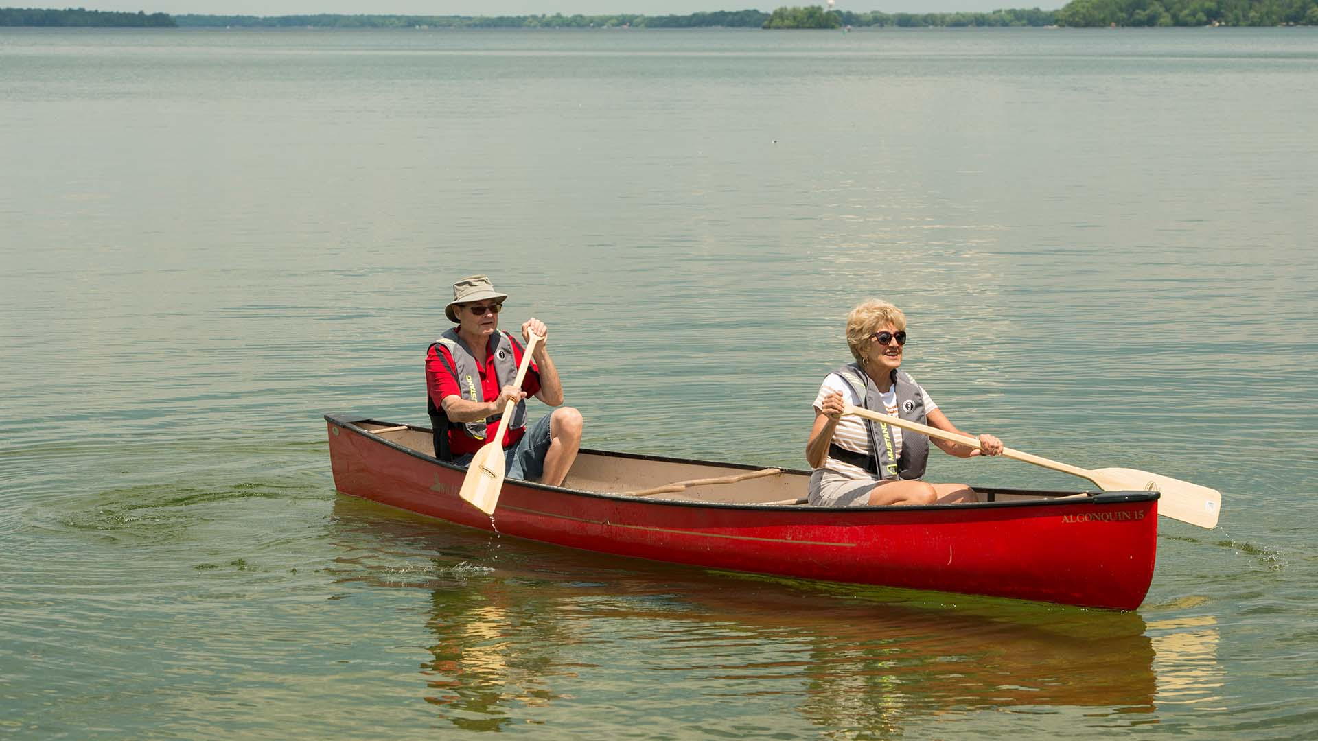 paddle bass lake - 10 Amazing Paddle Routes in Orillia and Lake Country