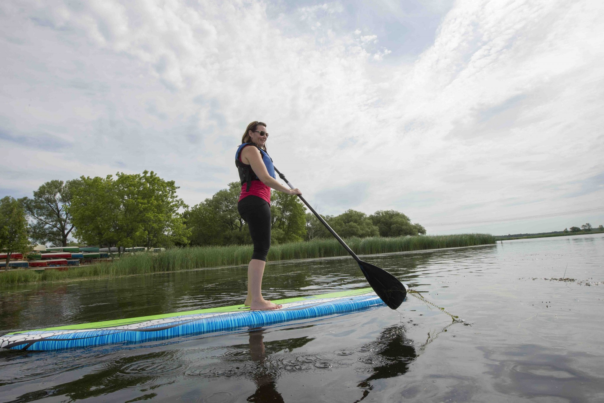 paddling paddle board severn summer outdoor recreation - 10 Amazing Paddle Routes in Orillia and Lake Country