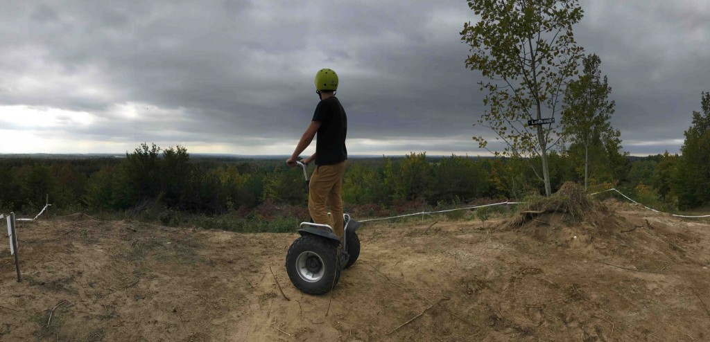 Tour the Fall Colours by Segway