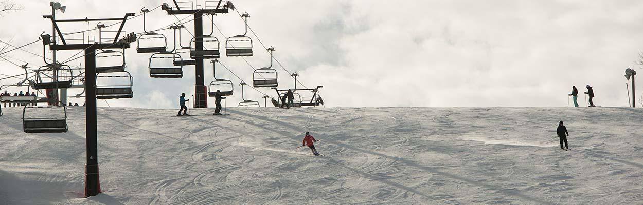 Down Hill Skiing 1250x400 - Top 10 Outdoor Winter Activities