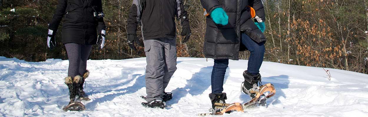 Snow Shoeing 1250x400 - Top 10 Outdoor Winter Activities