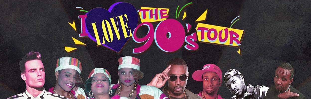 90s Tour 1250x400 - 9 Events You Don't Want To Miss This Summer!