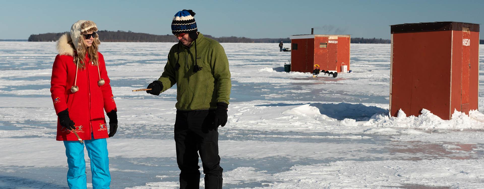 Banner Blog Orillia Fishing - Winter In Orillia